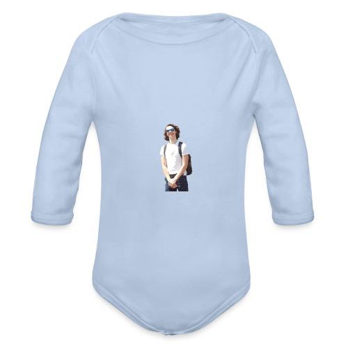 Noah Ras For president - Baby bio-rompertje met lange mouwen