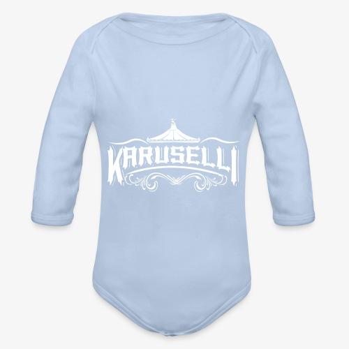 Karuselli - Vauvan pitkähihainen luomu-body