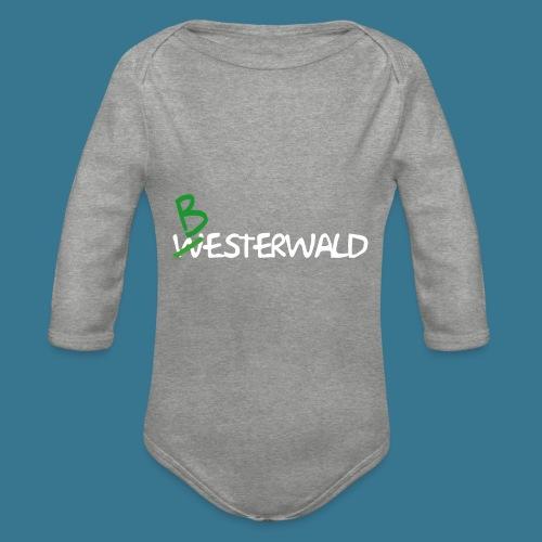 Bester Wald - Baby Bio-Langarm-Body