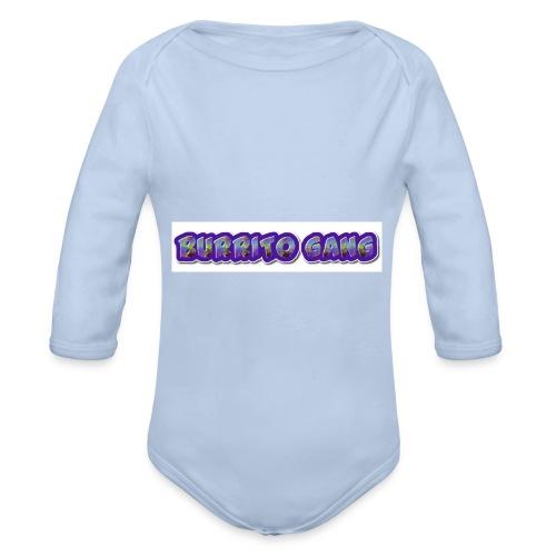 BURRITO GANG MALLISO - Vauvan pitkähihainen luomu-body