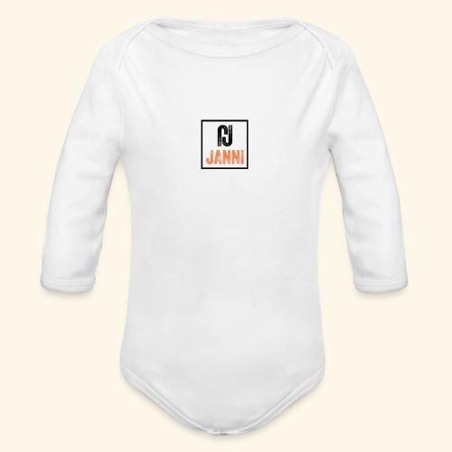 Janni Original Design - Langærmet babybody, økologisk bomuld