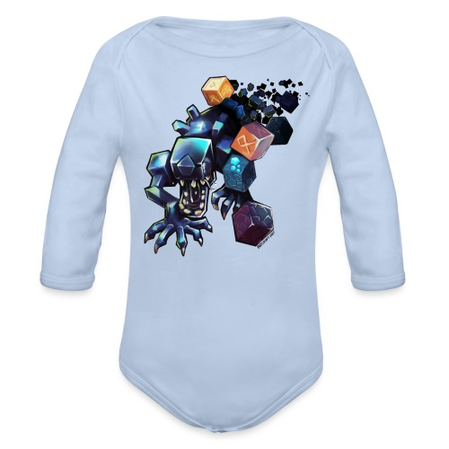 BDcraft Alien - Organic Longsleeve Baby Bodysuit