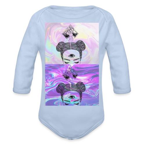 Third Eye - Organic Longsleeve Baby Bodysuit