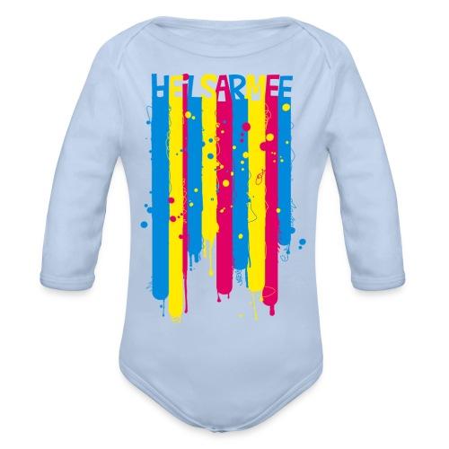 Kids Shirts Letters - Baby Bio-Langarm-Body