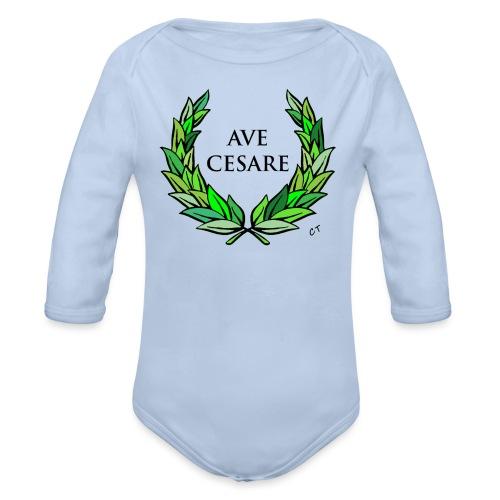 AVE CESARE - Body ecologico per neonato a manica lunga