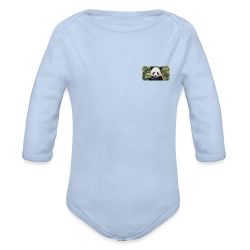 PANDA - Body orgánico de manga larga para bebé