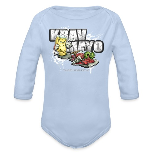 Krav Mayo - Baby Bio-Langarm-Body