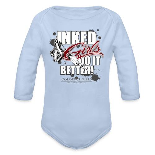 inked girls do it better - Baby Bio-Langarm-Body