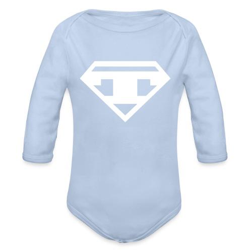 Twanneman logo - Baby bio-rompertje met lange mouwen