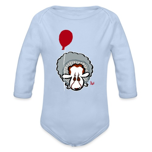 Evil Clown Sheep from IT - Body Bébé bio manches longues