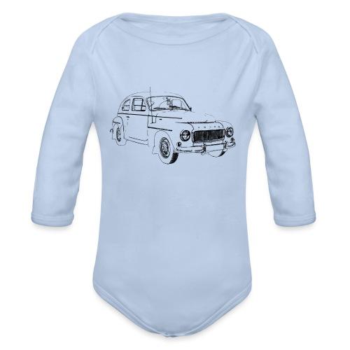 PV544 - Organic Longsleeve Baby Bodysuit