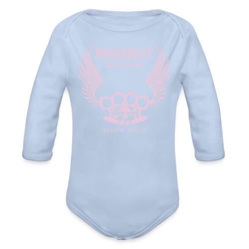 alas 001 convertido - Body orgánico de manga larga para bebé
