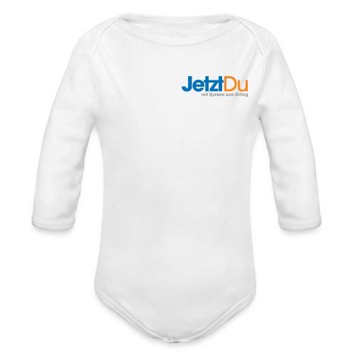 JetztDuLogo ArtWork1 - Baby Bio-Langarm-Body