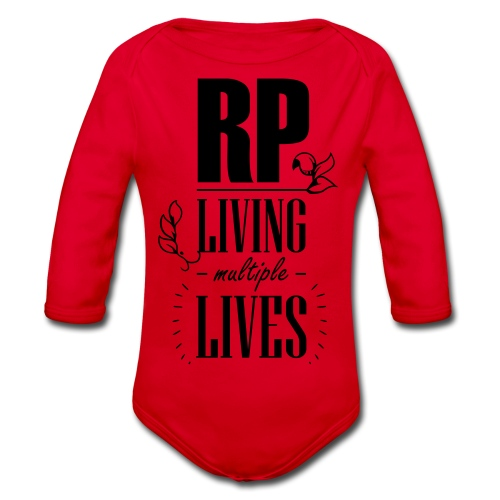 Role play - Living multiple lives - Langærmet babybody, økologisk bomuld