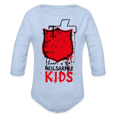Kids Shirts Shield - Baby Bio-Langarm-Body
