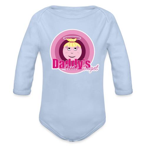 Daddy s Angel - Baby bio-rompertje met lange mouwen