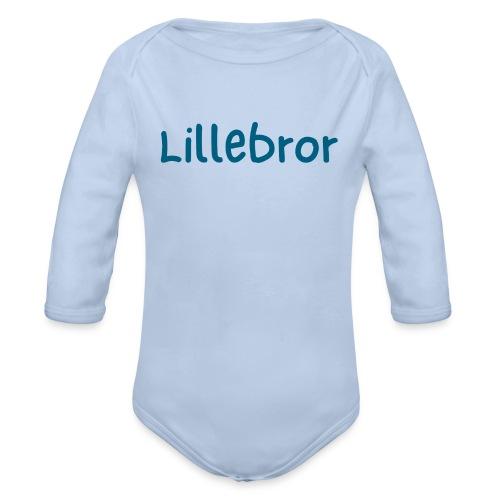 Lillebror - Økologisk langermet baby-body