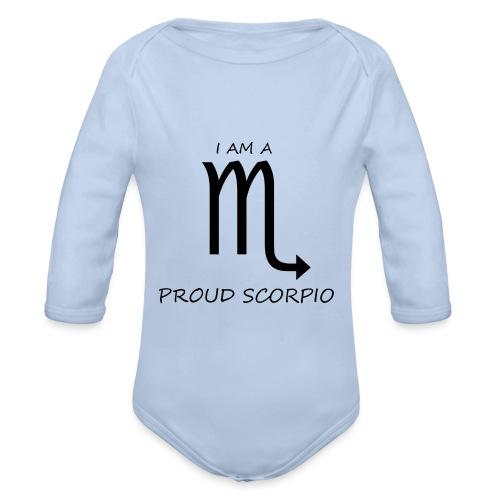 SCORPIO - Organic Longsleeve Baby Bodysuit