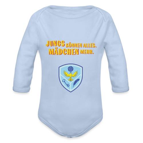 Rosenfels Wappen - Baby Bio-Langarm-Body