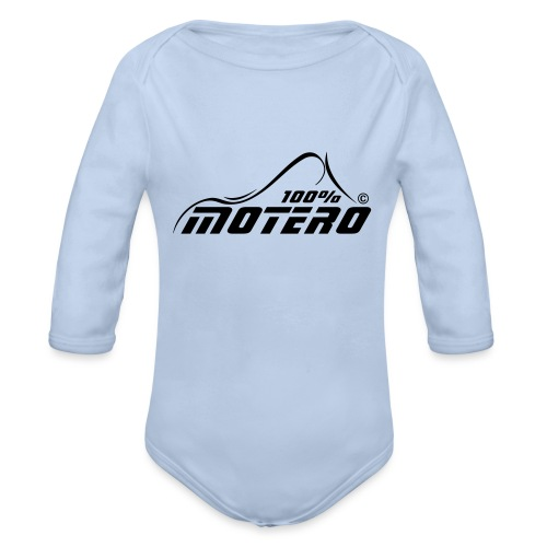 100% Motero - Body orgánico de manga larga para bebé