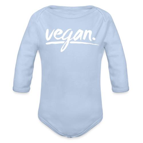 vegan - simply vegan ! - Baby Bio-Langarm-Body