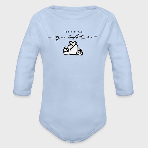 Das größte Geschenk – Baby Kollektion - Baby Bio-Langarm-Body