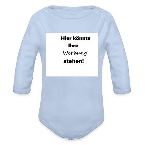 Hier könnte ihre Werbung stehen! Handyhüllen - Baby Bio-Langarm-Body