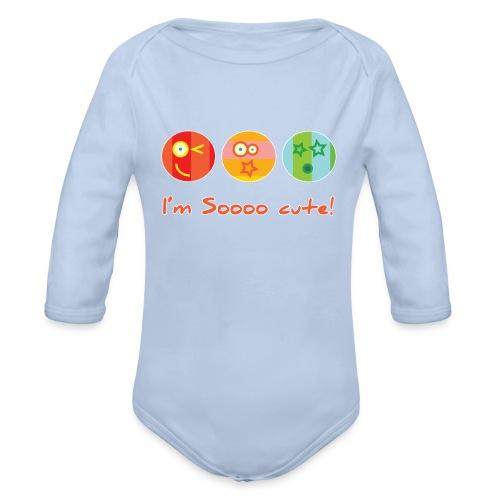 Sooo Cute - Baby bio-rompertje met lange mouwen