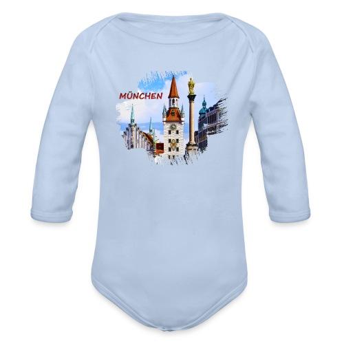 München Spielzeugmuseum und Altes Rathaus - Baby Bio-Langarm-Body
