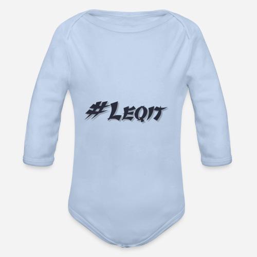 Kleines #Leqit - Baby Bio-Langarm-Body
