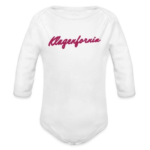 klagenfornia classic - Baby Bio-Langarm-Body