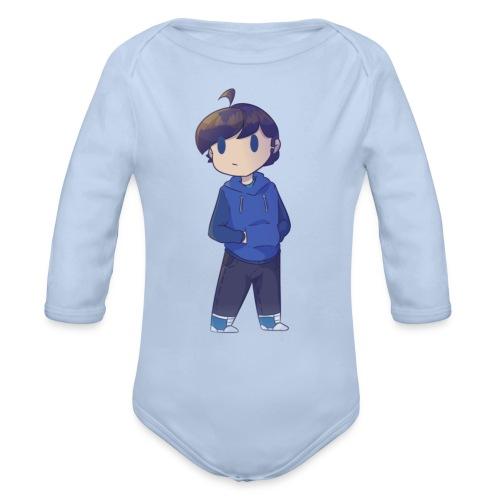 Zaxq Character - Organic Longsleeve Baby Bodysuit