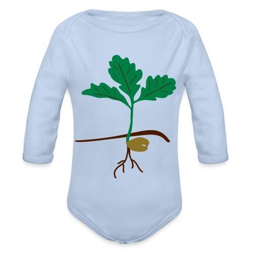Eichensämling - Baby Bio-Langarm-Body