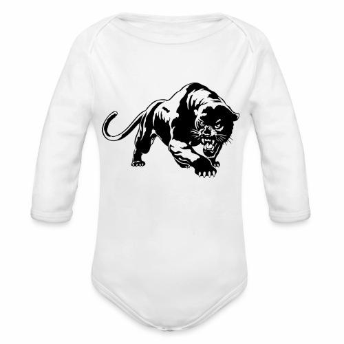 Black Panthère 🐆 édition - Body Bébé bio manches longues