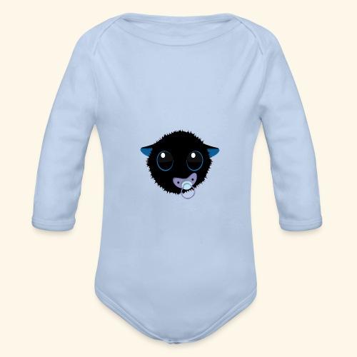 blu-baby moushou - Body Bébé bio manches longues