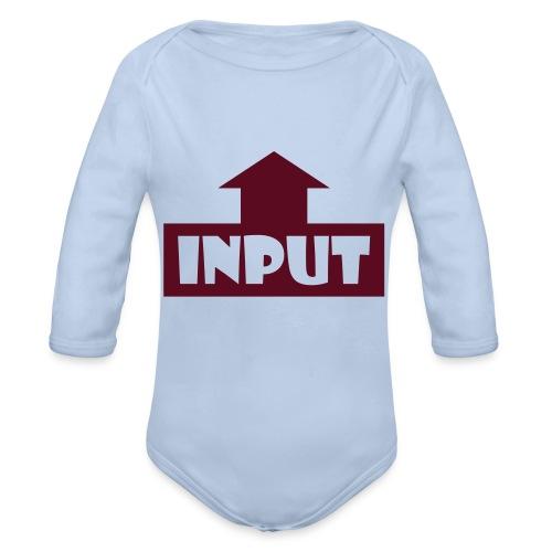 Input Output - Baby Bio-Langarm-Body
