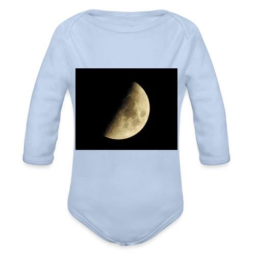 LUNA_3840X3072 - Body ecologico per neonato a manica lunga