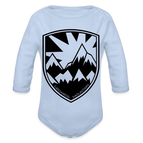 Gboards Wappen - Baby Bio-Langarm-Body
