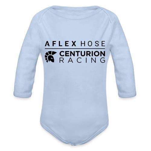 Centurion 2-Print - Organic Longsleeve Baby Bodysuit