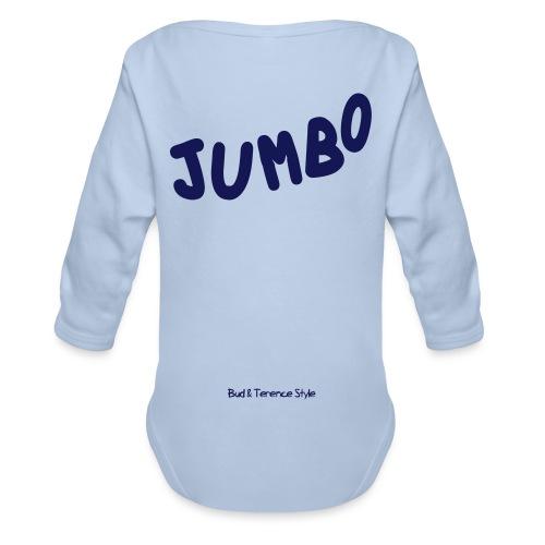 Jumbo - Body ecologico per neonato a manica lunga