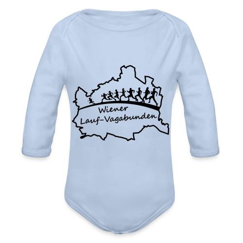 Laufvagabunden T Shirt - Baby Bio-Langarm-Body