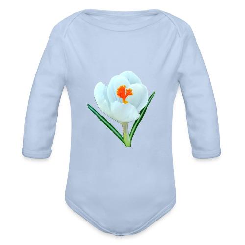 TIAN GREEN - Krokuss 2020 - Baby Bio-Langarm-Body
