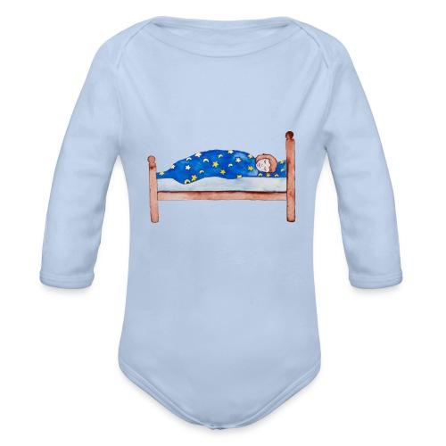 Schlafendes Kitzelinchen - Baby Bio-Langarm-Body