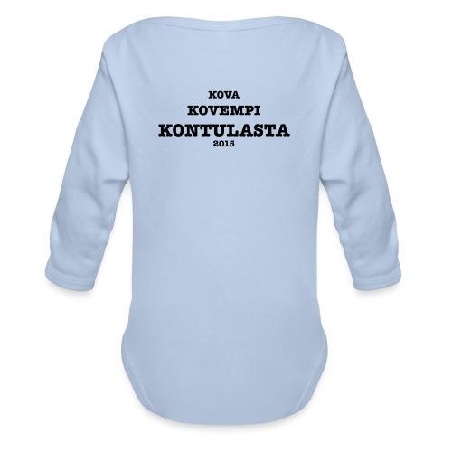 Kontula - Organic Longsleeve Baby Bodysuit