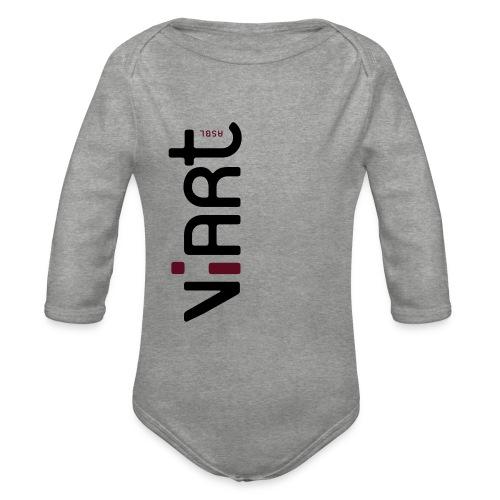 ViArt asbl Logo - Baby Bio-Langarm-Body