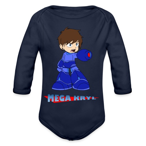MegaKryl! - Organic Longsleeve Baby Bodysuit