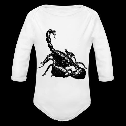 Nether Scorpion - Body ecologico per neonato a manica lunga