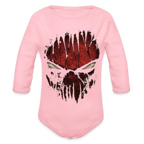 spyder man ( Vio ) - Organic Longsleeve Baby Bodysuit