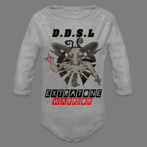 DDSL E W M.A.X - Baby bio-rompertje met lange mouwen