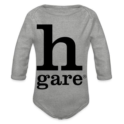 HGARE LOGO - Body ecologico per neonato a manica lunga
